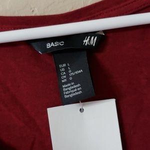 H&M Tops - NWT H&M scoop neck top